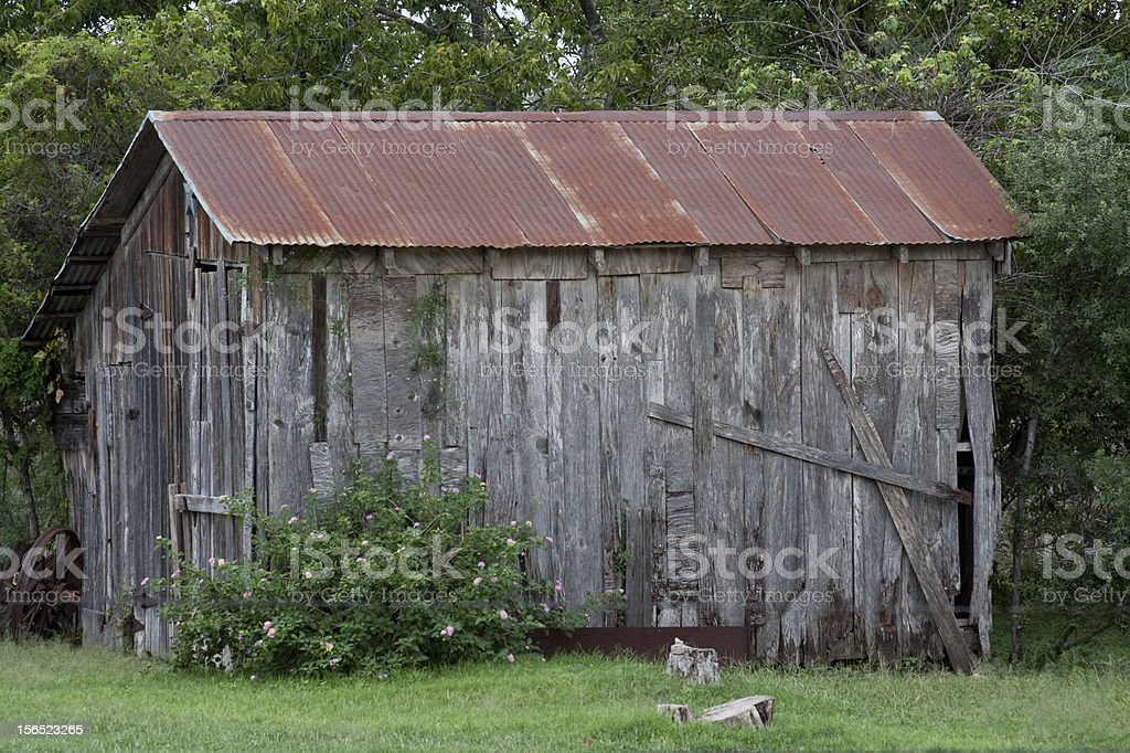 The Old Shed royalty-free stock photo