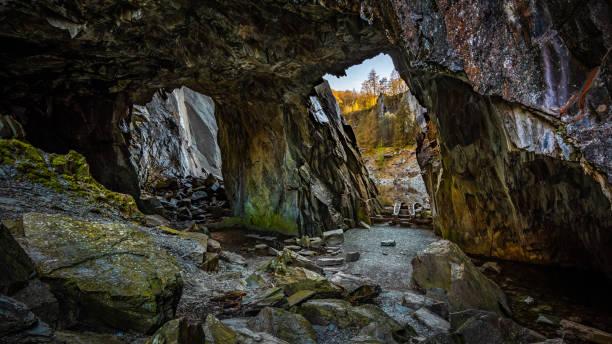 As velhas minas de ardósia - foto de acervo
