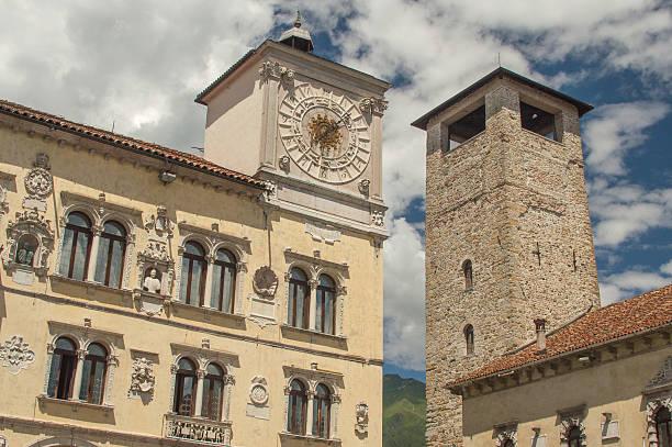 Die alte towers of Belluno, Italien – Foto