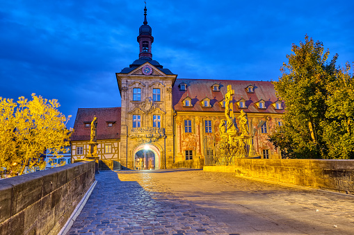 The old town hall of Bamberg