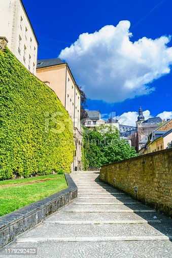 Benelux, Europe, Luxembourg - Benelux, Luxembourg City - Luxembourg, Alley