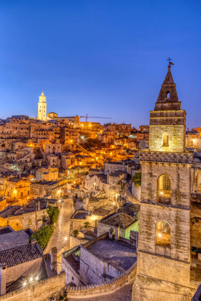 Die Altstadt von Matera in Süditalien – Foto