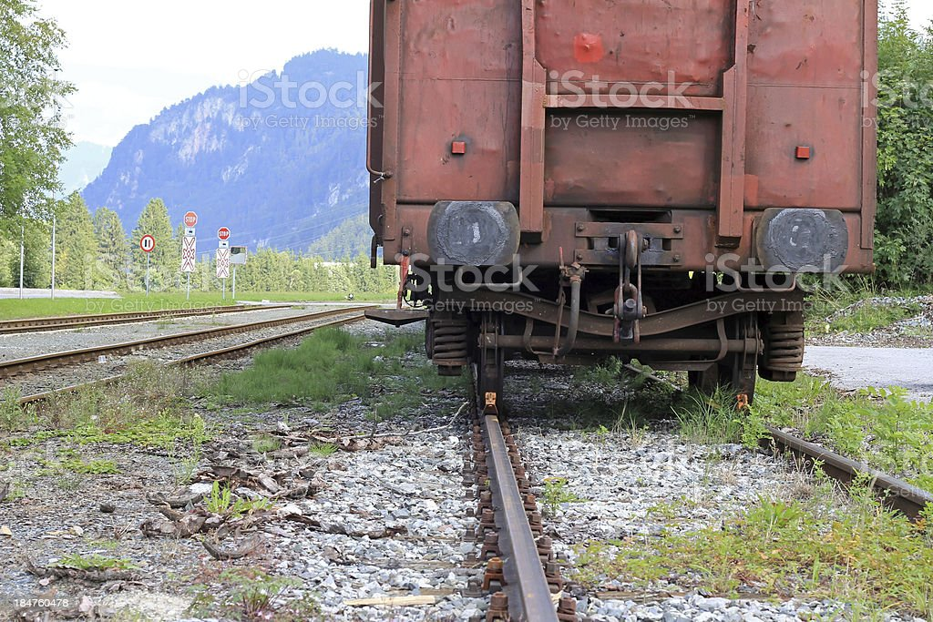 The old train stock photo