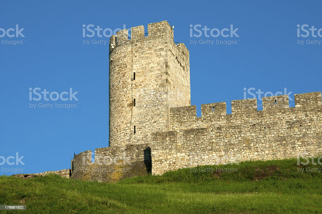 The old watch tower royalty-free stock photo