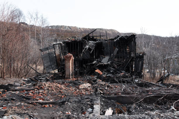 364 Burned Down House Stock Photos, Pictures & Royalty-Free Images - iStock