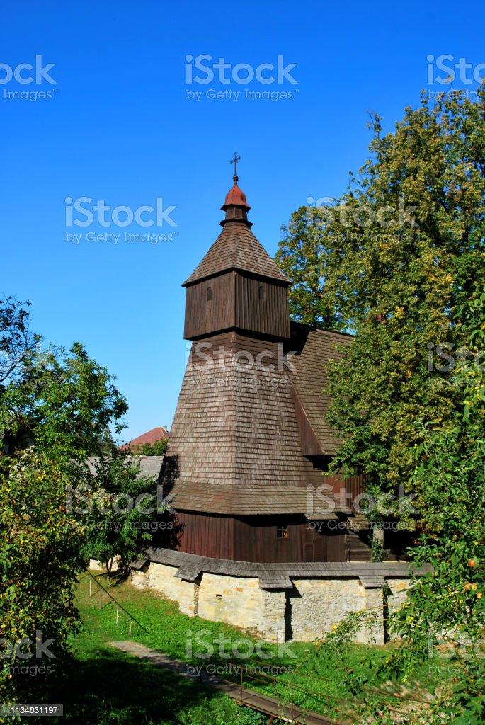 The Old Wooden Church In Hervartov Bardejov District Presov
