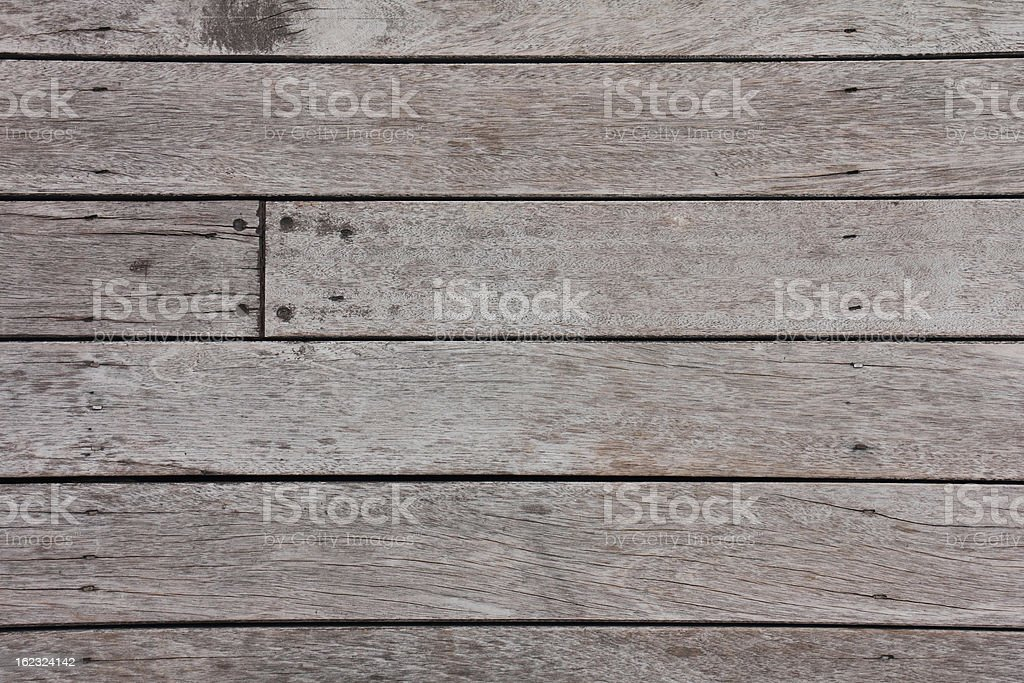 The old wooden floorboards stock photo