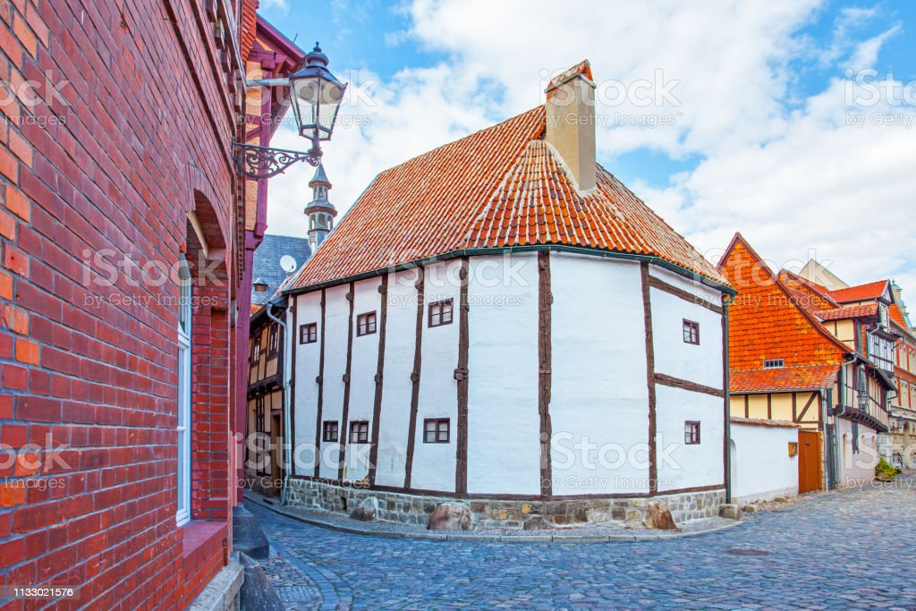 The Oldest Timber Framing House In Germany Stock Photo