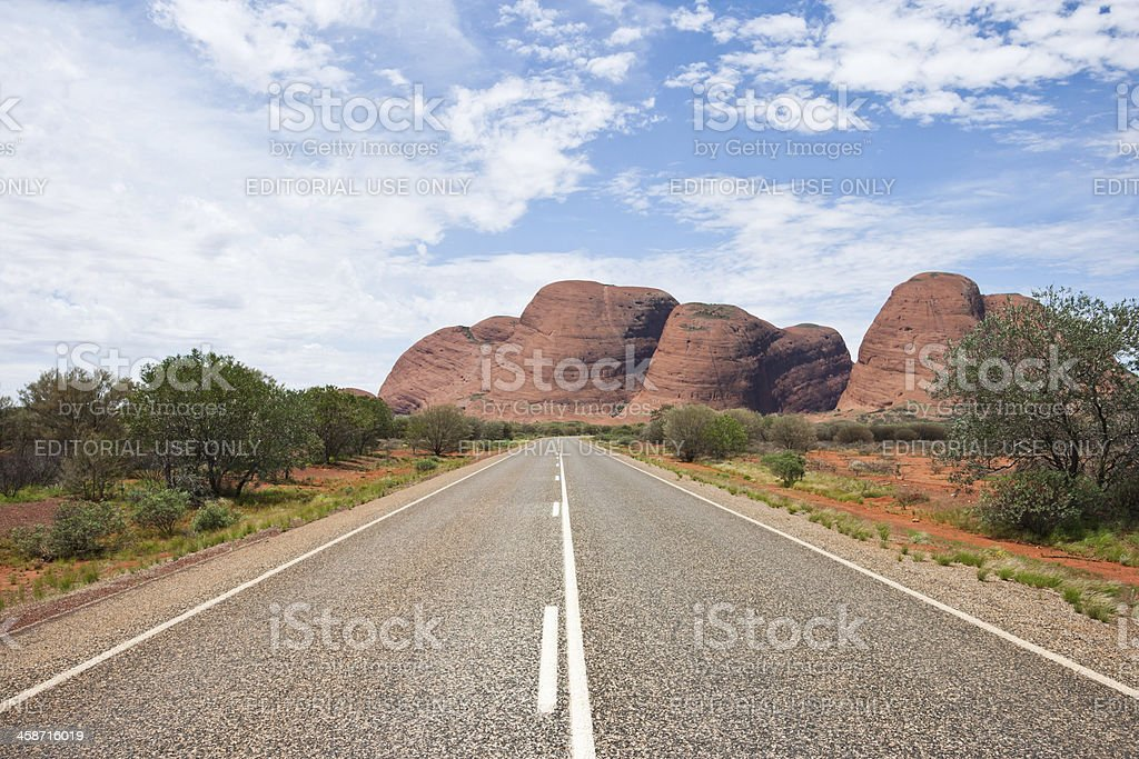 The Olgas/Kata Tjuta, Australia royalty-free stock photo