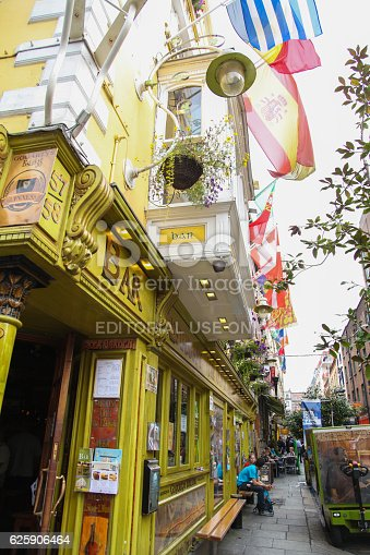 istock The Oliver St John Gogarty pub on Temple Bar, Dublin 625906464