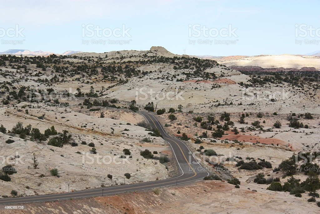 El One Million Dollar Road Highway 12, EE.UU. - foto de stock