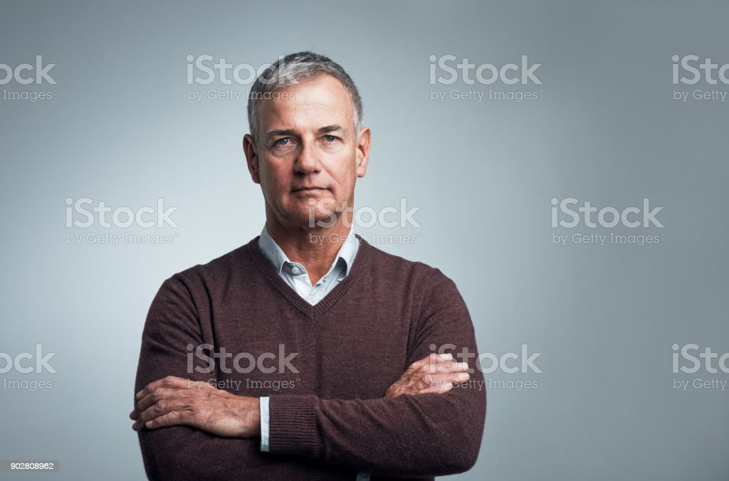 The only respect that's important is self respect stock photo