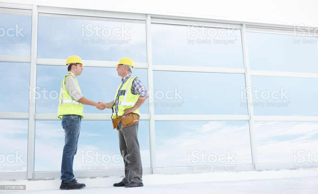 The only way for us is up royalty-free stock photo