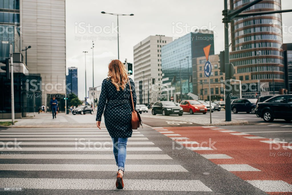 The only way to live is to keep moving forward stock photo