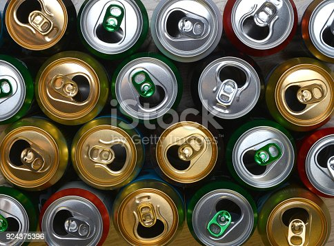 istock The open cans of beer. 924375396