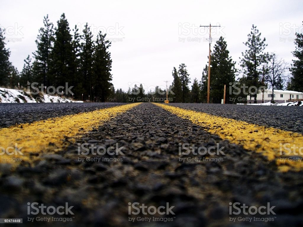 The Open Road 2 royalty-free stock photo