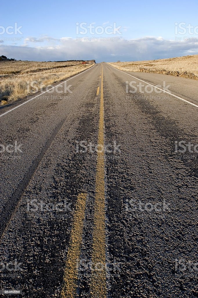 La strada foto stock royalty-free
