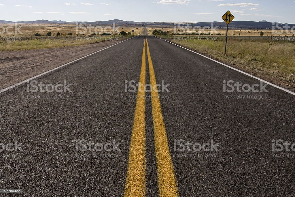 The open road - Route 66 royalty-free stock photo