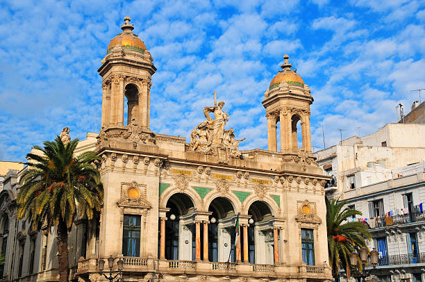 the opera house - oran, algeria - algeria stock photos and pictures