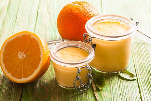 Die Orange curd – Foto