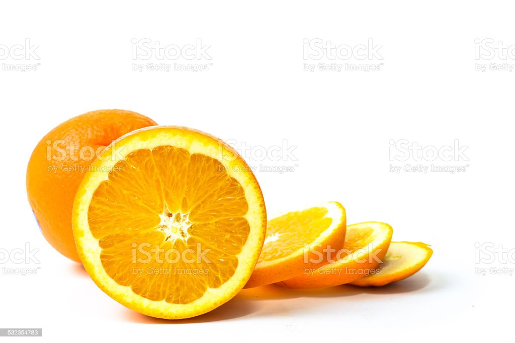 The Orange Fruit stock photo