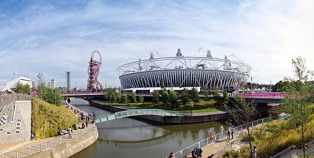 Im Orbit und Olympic Stadium – Foto