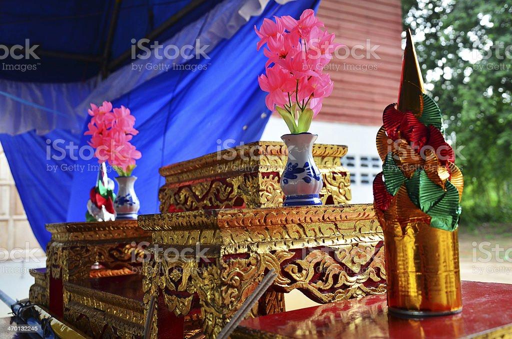 The ordain of Ordination ceremony royalty-free stock photo