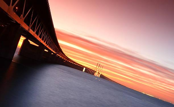 the oresund bridge - öresund bildbanksfoton och bilder