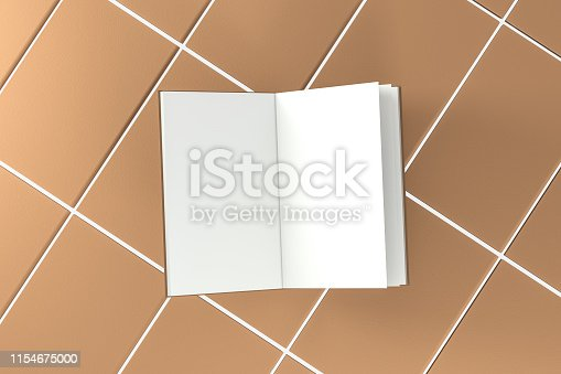 621728016istockphoto The organized hard cover notebooks, 3d rendering. 1154675000