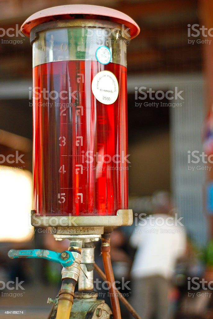 the original to fill gasoline stock photo
