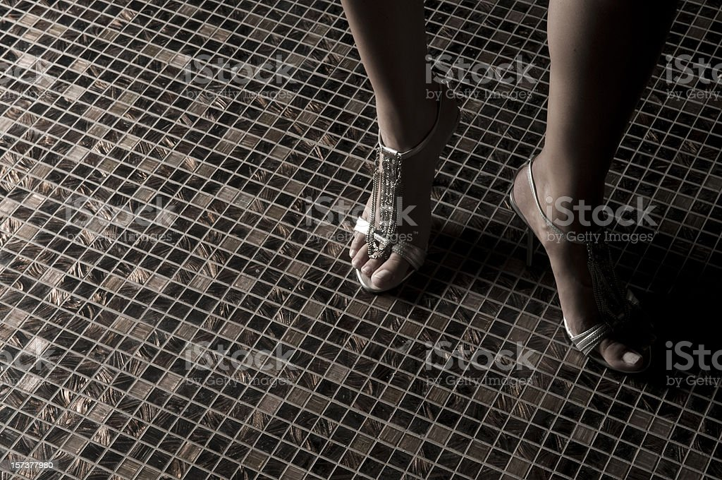 the ornamental shoes... royalty-free stock photo