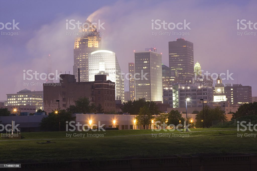 The other windy city royalty-free stock photo
