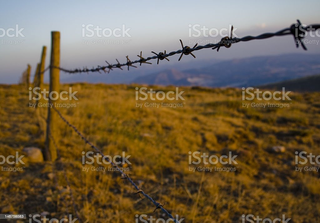 The Out Of Border stock photo