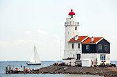 istock The Paard van Marken Lighthouse 517077225