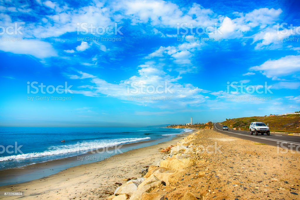The Pacific Coast Highway 101 stock photo