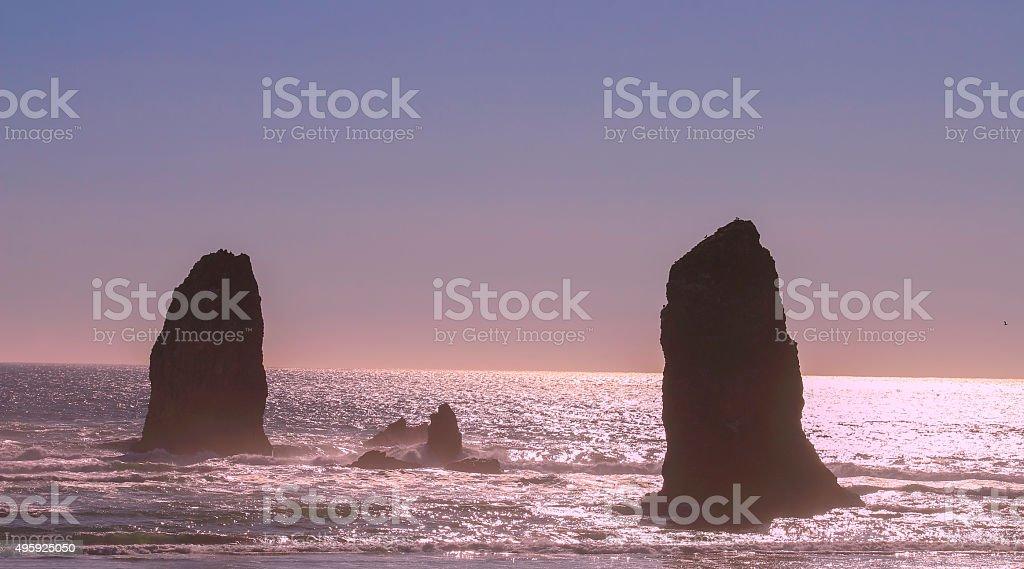 The Pacific-Oregon Coast stock photo