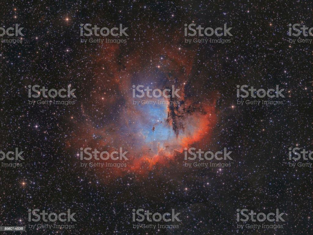 Der Pacman-Nebel im Sternbild Cassiopeia (NGC 281) – Foto