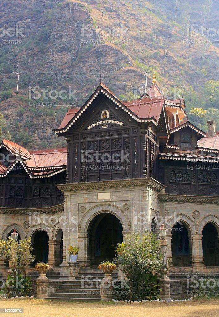 The Padam Palace royalty-free stock photo