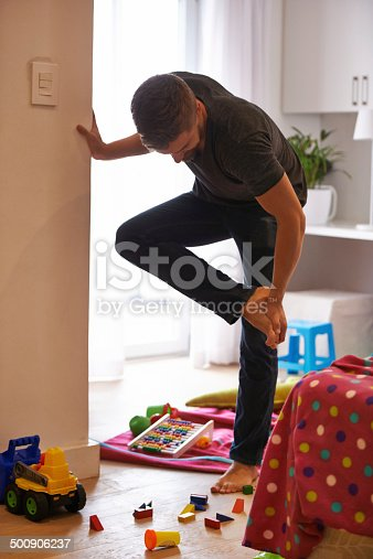 istock The pain of being a parent 500906237