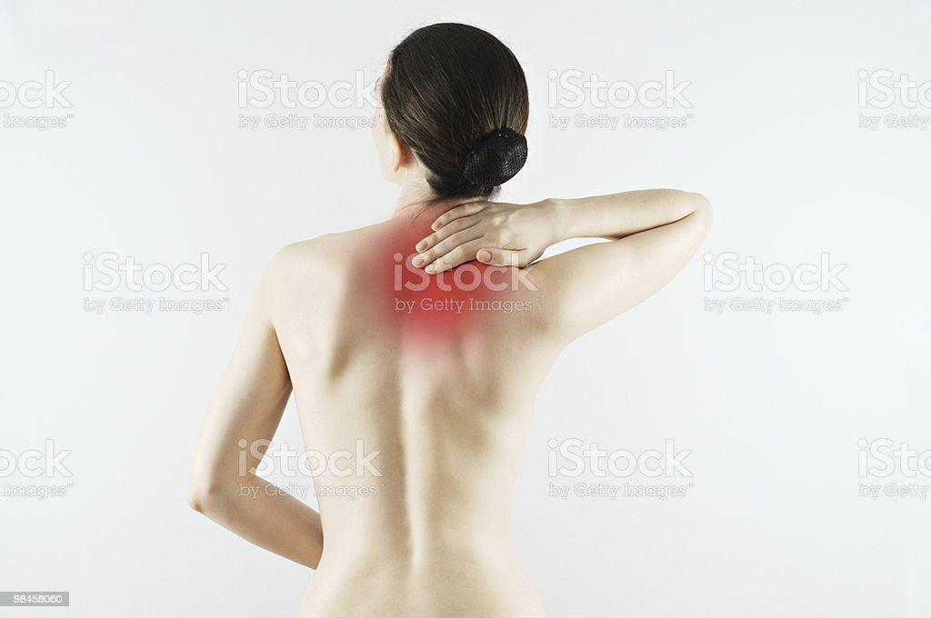 the pain royalty-free stock photo