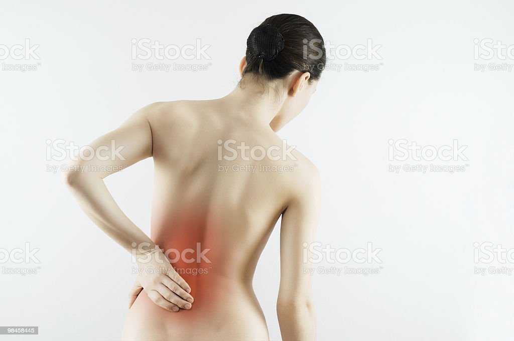 the pain royalty-free stock photo