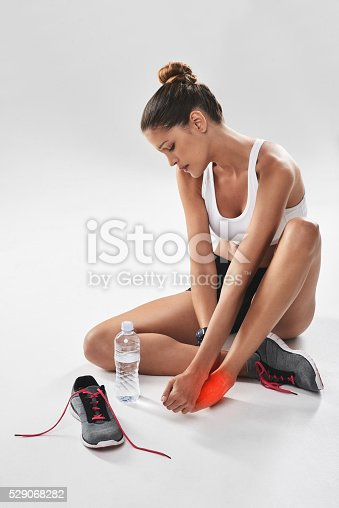 istock The pain you feel today will be tomorrow's strength 529068282