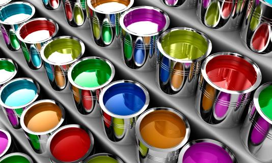 The paint