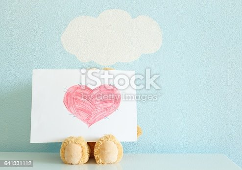 istock The painted heart of love 641331112
