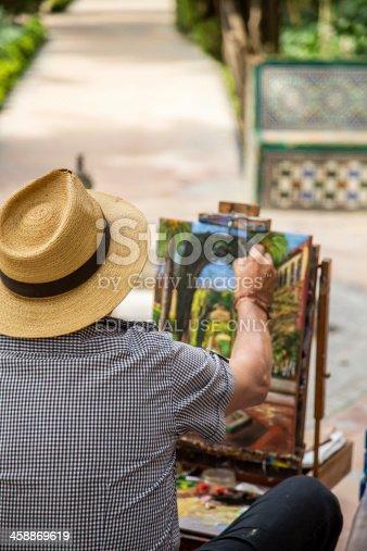 585509074 istock photo The Painter 458869619