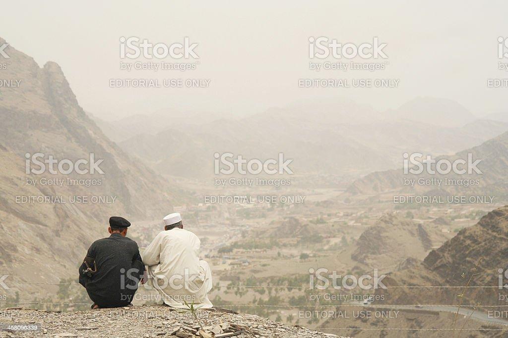 Die Pakistan-Afghanistan-Grenze – Foto