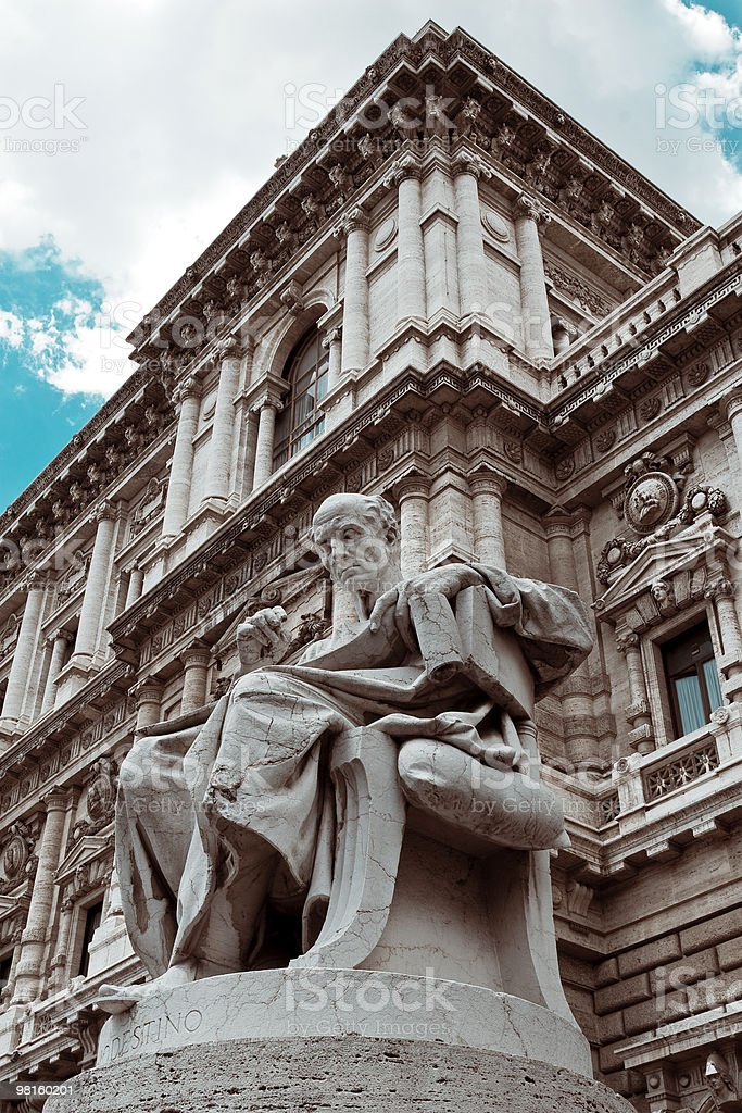 The Palace of Justice royalty-free stock photo