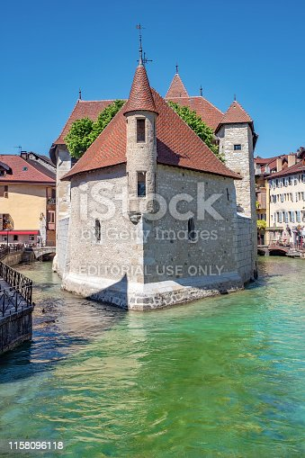 istock The Palace of the Isle, Annecy 1158096118