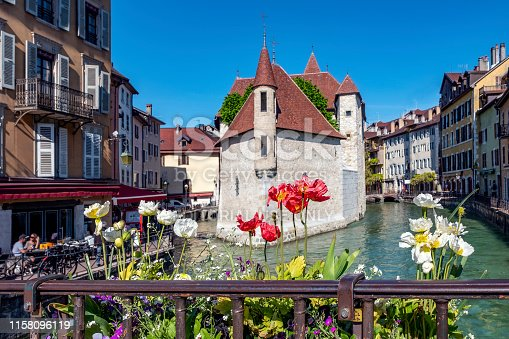 istock The Palace of the Isle, Annecy 1158096119