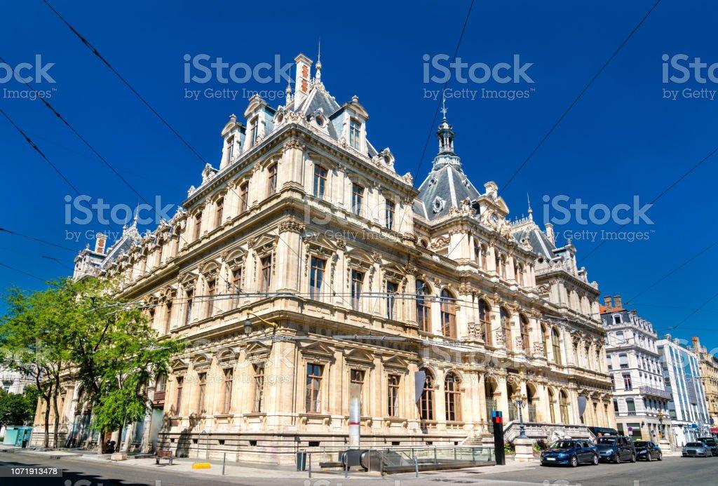 Le Palais de la Bourse, un monument historique à Lyon, France - Photo